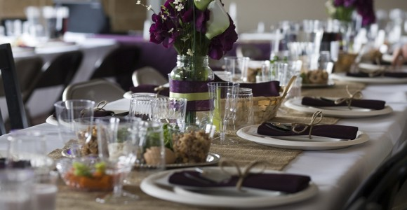 Messianic Seder tables